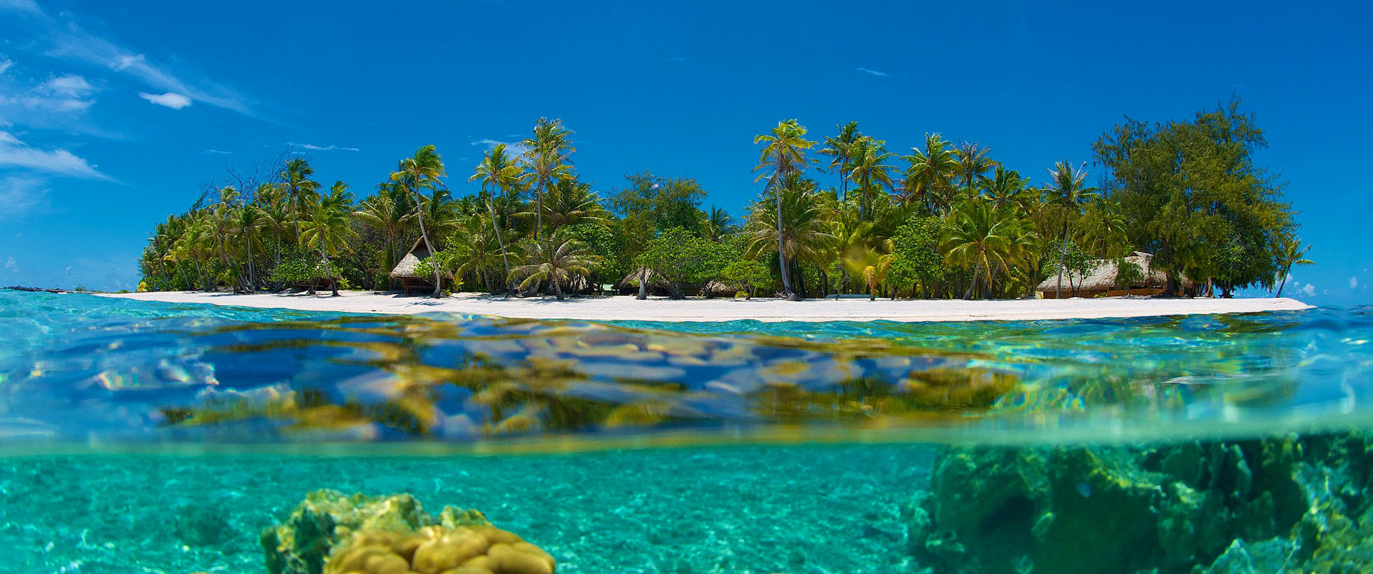 Islands Beaches  Reefs  Exotic Island Vacations
