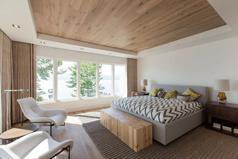 20 Awesome Examples Of Wood Ceilings That Add A Sense Of Warmth To