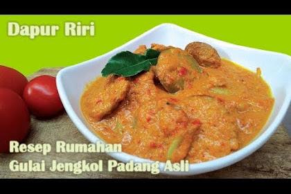 Resep Semur Jengkol Padang