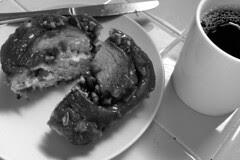 Coffee in the City - Arizmendi Pecan Roll and Peet's Kona Reserve