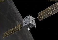 SMART-1 Near Moon