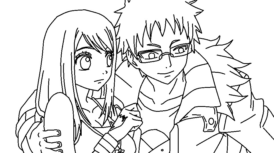 Photos - Bild - Galeria: FAIRY TAIL COLORING PAGES