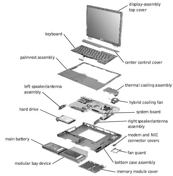 34 Dell Laptop Parts Diagram