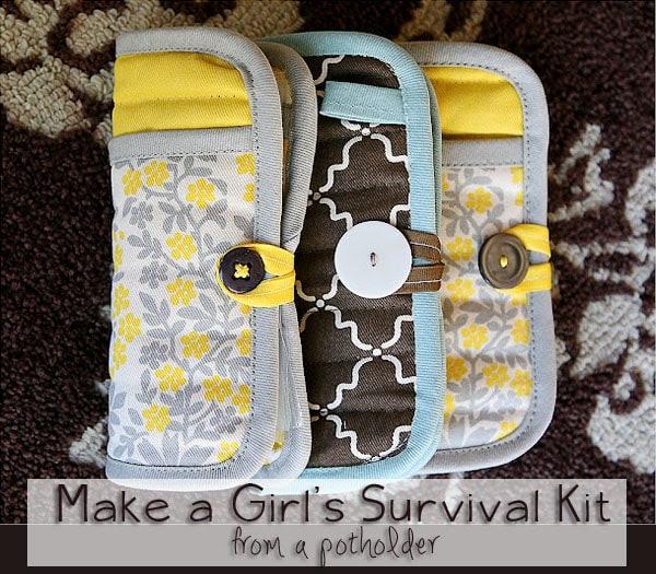 Girl's Emergency clutch