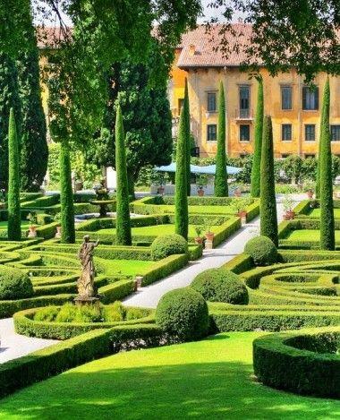 Giardino Giusti, Verona Italy