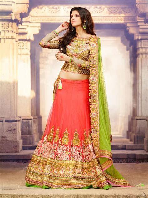 Red Color Weddind Bridal Lehenga Choli From