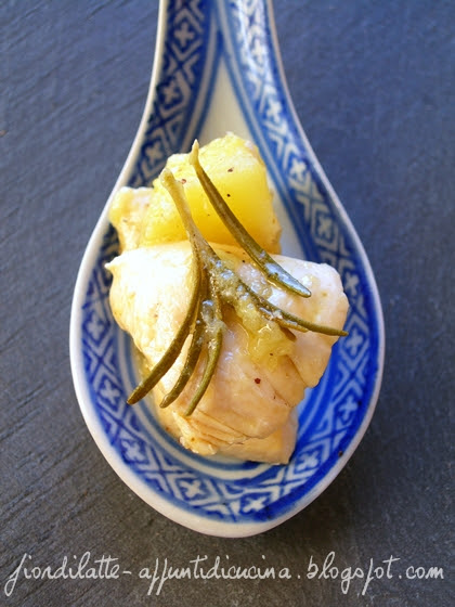 I finalisti, Contest Inventamela - Pollo mele e rosmarino