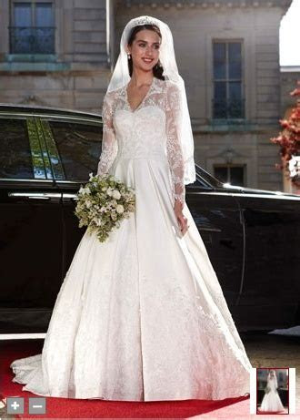 Kate Middleton inspired wedding dress at David's Bridal