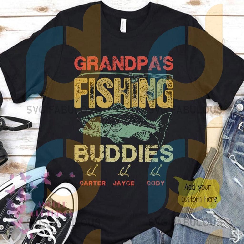 Download Grandpas Fishing Buddies Svg Fathers Day Svg Grandpa Svg Fishing Sv Svg Fabulous