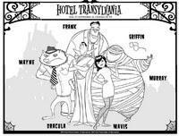 Coloriages Hotel Transylvanie Bonjour Les Enfants