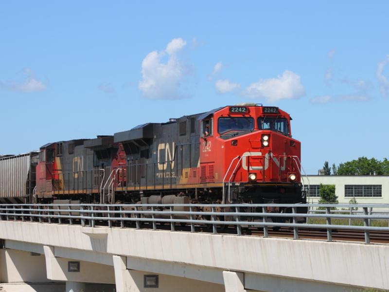 CN 2242 in Winnipeg