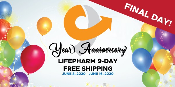 Final Day - LifePharm 9-Day Free Shipping