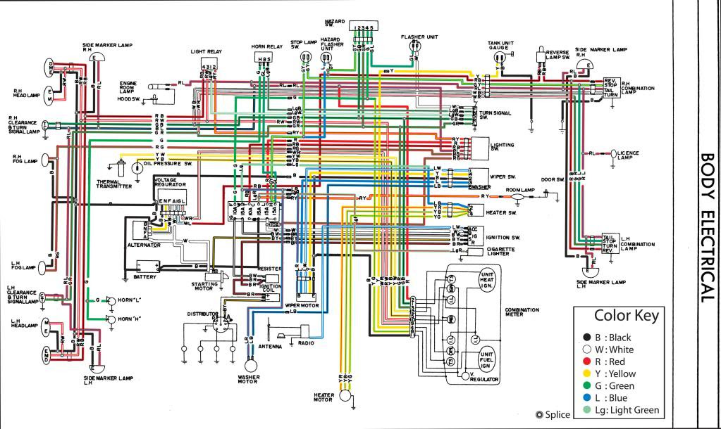 280z Fuse Box Diagram Wiring Diagram Ground Ground Lechicchedimammavale It