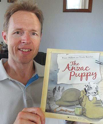 Peter Millett and illustrator Trish Bowles