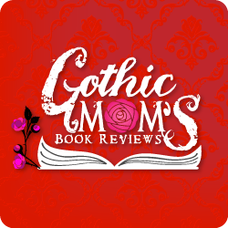 Gothic Mom's book reviews button by parajunkee