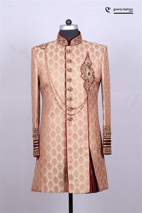 42 exclusive Sherwani designs for Groom   Latest Sherwani