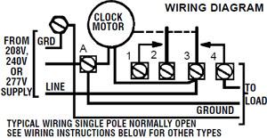 Intermatic Timer Wiring Diagram - Wiring Diagram