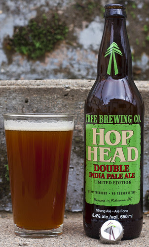 Review: Tree Hop Head Double IPA by Cody La Bière