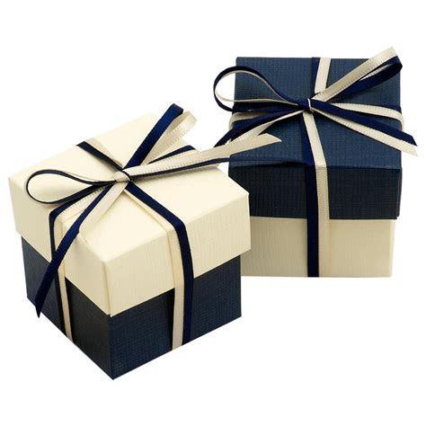 Cute Cream & Black Wedding Favour Boxes For A Wonderful