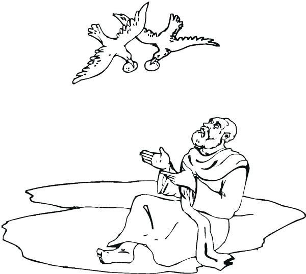 720 Bible Coloring Pages Elijah For Free