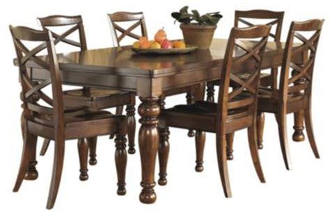 ashley porter  piece dining set homemakers furniture