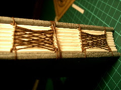 This is celtic weaving up close
