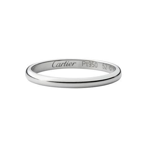 Cartier Platinum Wedding Band   Wedding and Bridal Inspiration