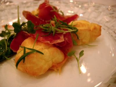 jamon and goat cheese