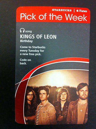 Starbucks iTunes Pick of the Week - Kings of Leon - Birthday