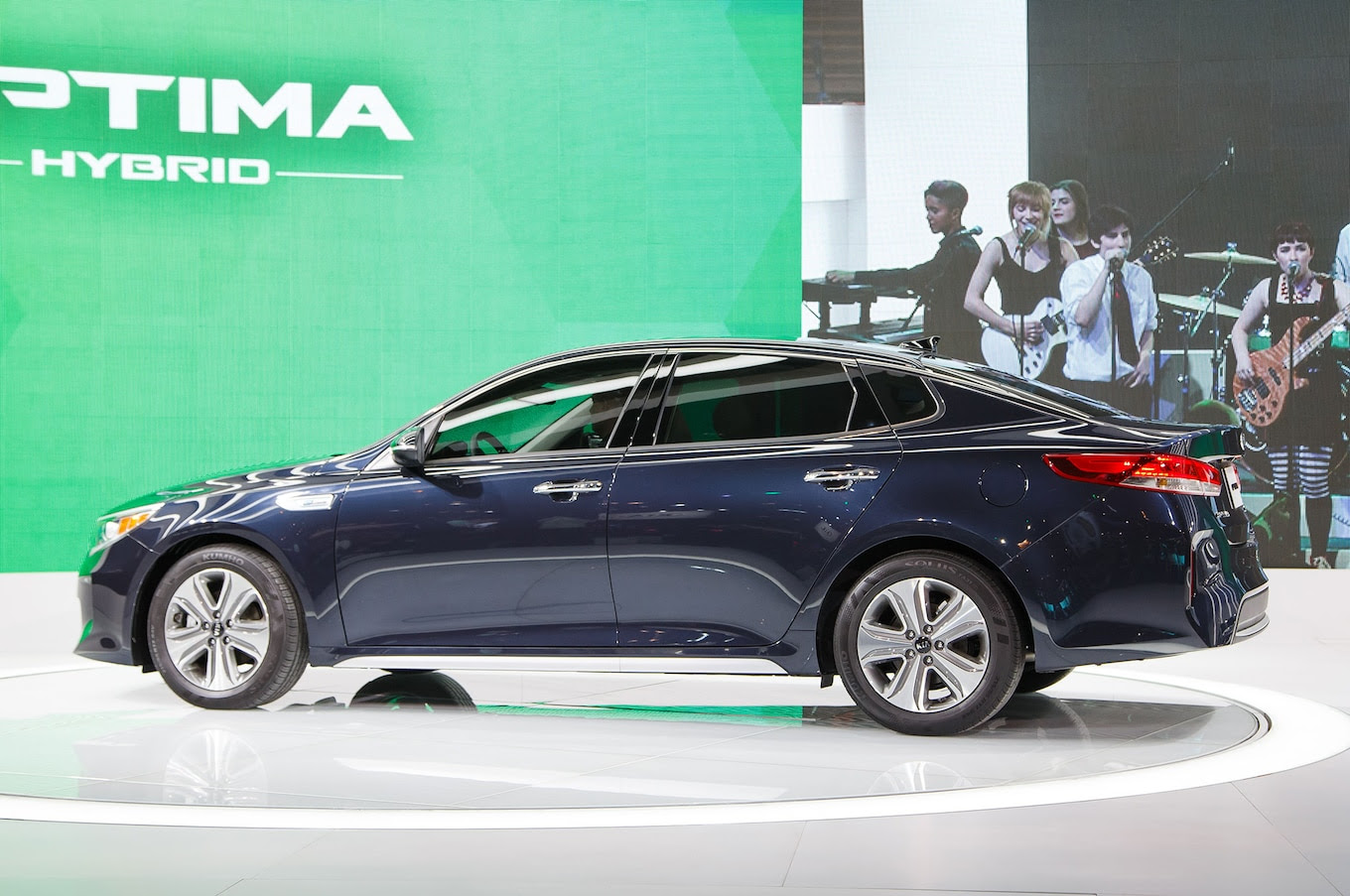 2017 Kia Optima PHEV, Optima Hybrid Debut in Chicago