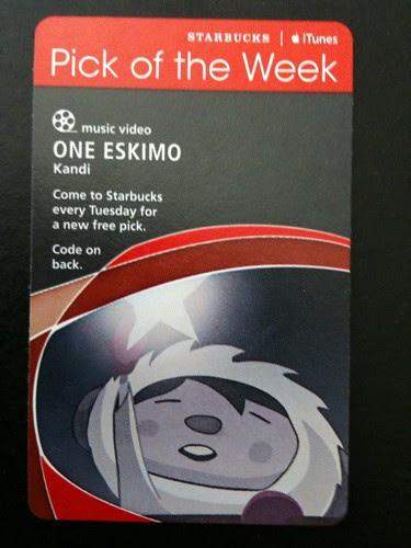 @Starbucks iTunes Pick of the Week - One eskimO - Kandi #potw #fb