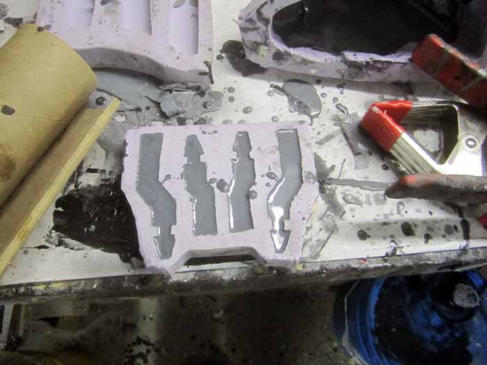 Curved Castings Step 1
