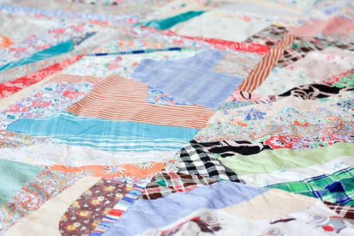 Vintage Crazy Quilt by Jeni Baker