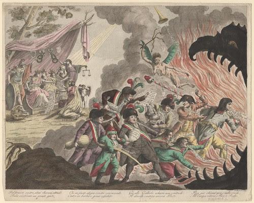 Dal Braccio Vostro Almi Sovrani Attende Italia Assassinata (from Milan, 1799)