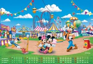 JCBオリジナル ディズニー キャラクター 壁紙 カレンダー - ディズニー 壁紙 カレンダー