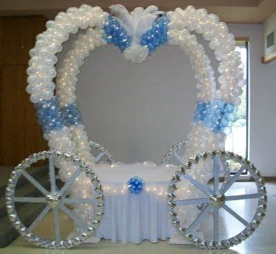 Balloon Carriage Is Perfect For Princess Party   princess