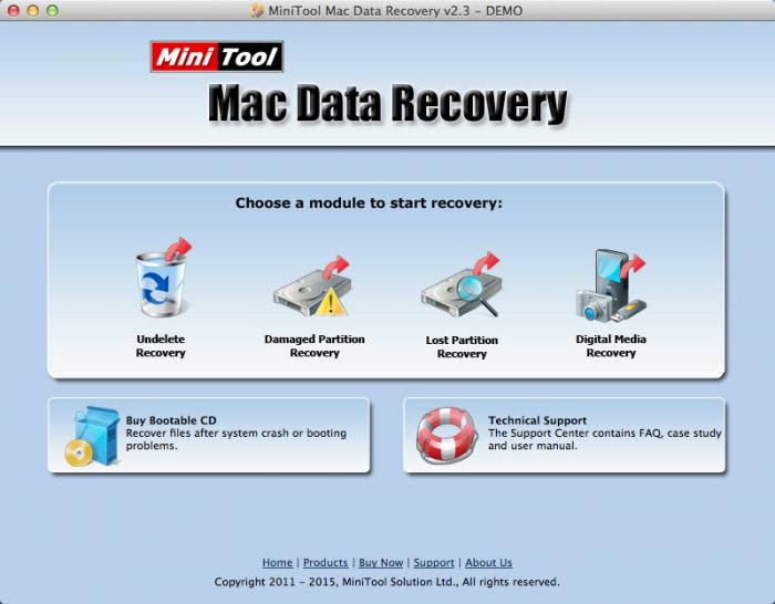 MiniTool Power Aplikasi Data Recovery Terbaik di Mac OS