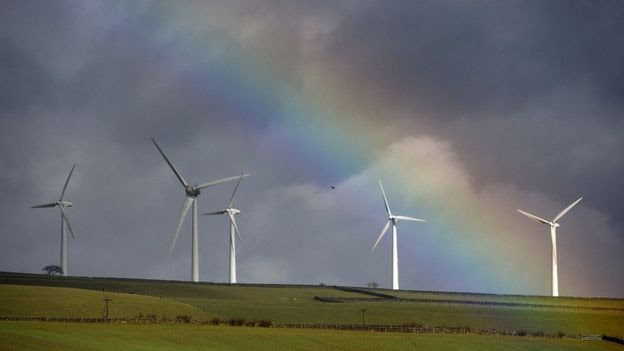 Windfarm in Wortley, near Sheffield