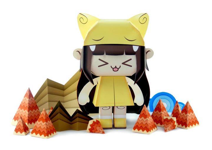 Teresha Paper Toy