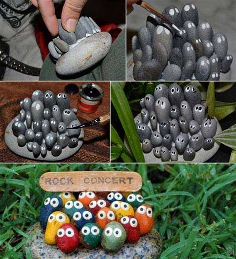 15 Easy DIY Garden Projects With Rocks And Stones   Home