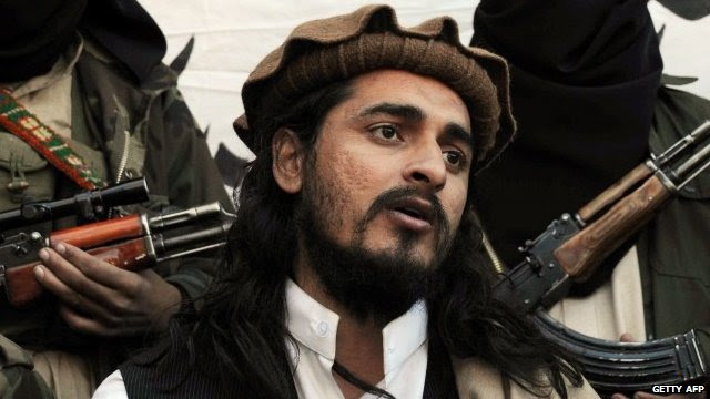 File photograph taken on November 26, 2008, shows Pakistani Taliban commander Hakimullah Mehsud