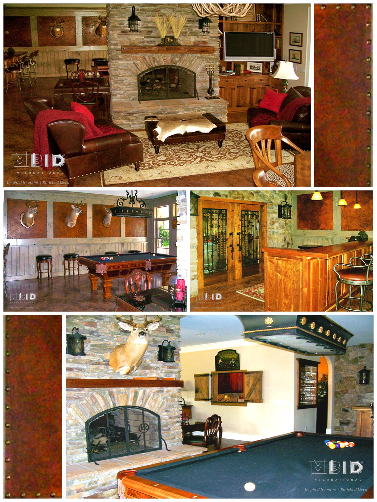 Rustic Mountain Home Interior Design Lake Norman Blowing Rock Mbid