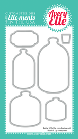 Bottle It Up Elle-ment dies coordinate with our Bottle It Up clear stamp set