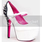 Qupid PSYCHE-37 Mary Jane Platform Glitter High Heel Stiletto Spike Pump
