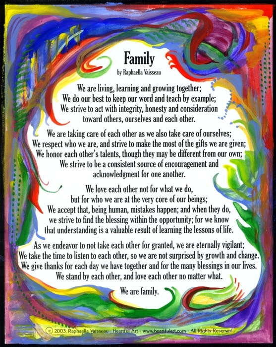 Poems for Family and friends