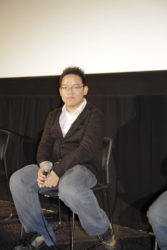 I contemplate during the Q and A session