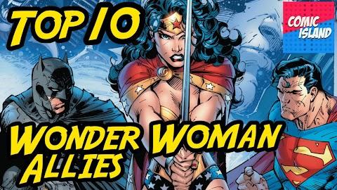 Top 10 Wonder Woman Comics