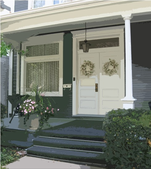 porches, sidewalks and front doors | think | architect
