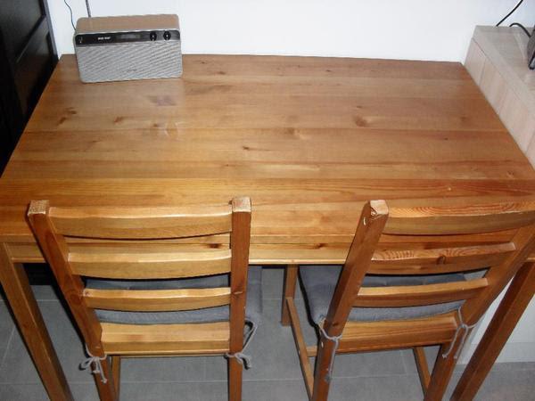 küchentisch 120x75cm aus der reihe jokkmokk mit zwei