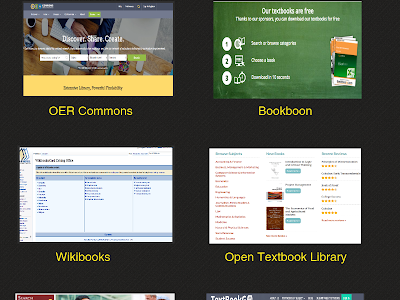 Some Good Sources of Open Digital Textbooks for Teachers